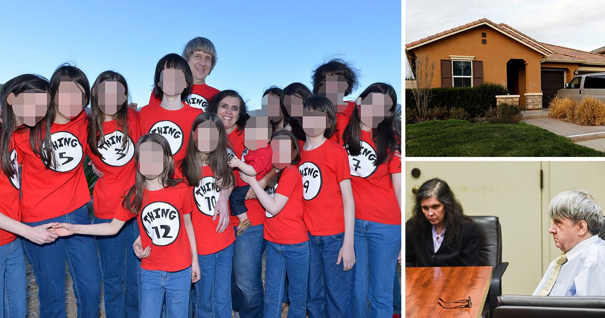 House of Horrors parents the Turpins plead not guilty to torturing their 12 kids