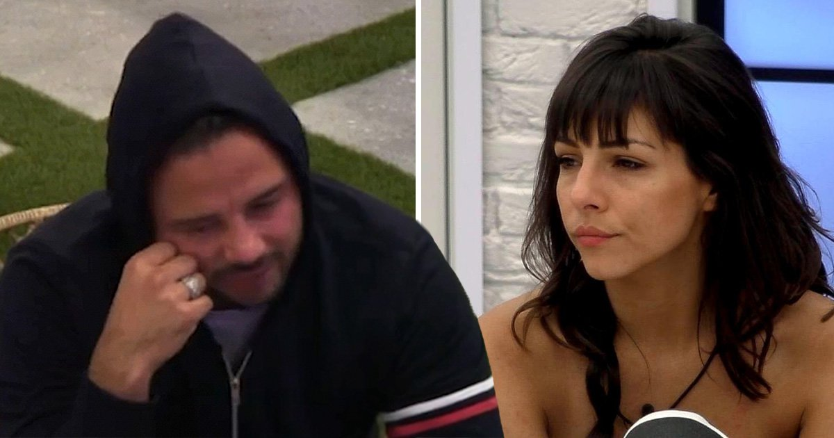 CBB's Ryan Thomas breaks down in tears over Roxanne Pallett's punch claims: 'My life's in tatters'