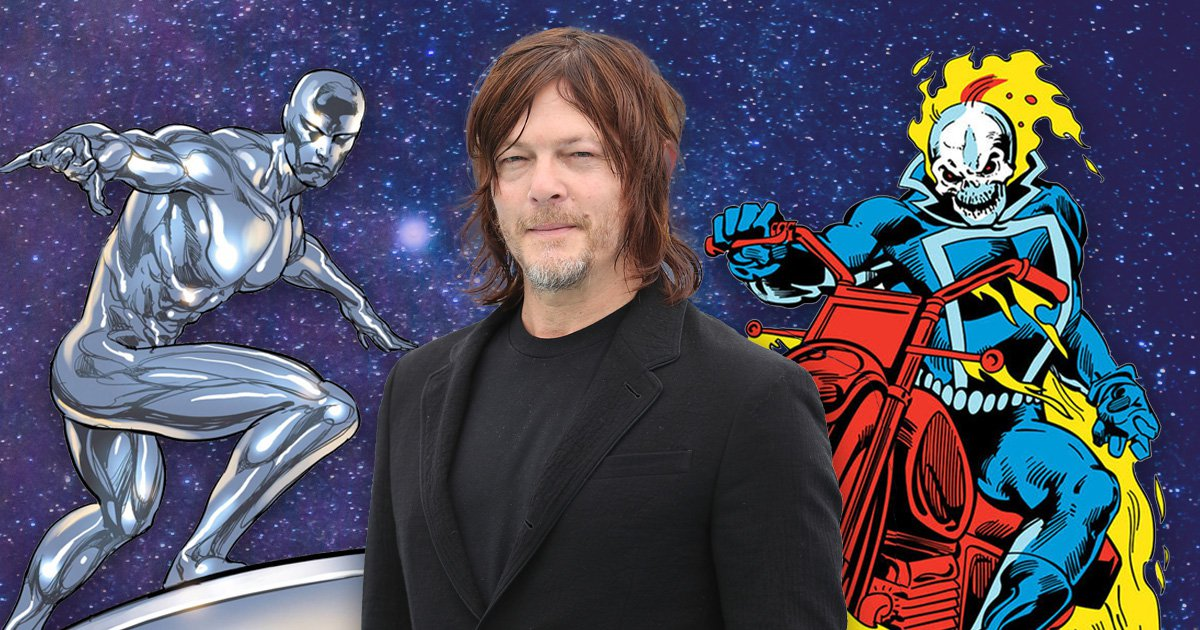The Walking Dead's Norman Reedus set sights on Marvel's Ghost Rider – or Silver Surfer