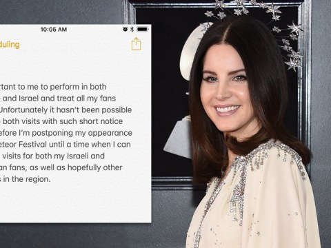 Lana Del Rey announces she's 'postponing' Israel show following backlash