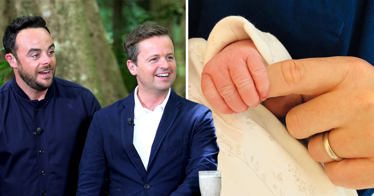 Uncle Ant is 'completely besotted' with Dec's newborn daughter after rushing to the hospital for 'cuddles'