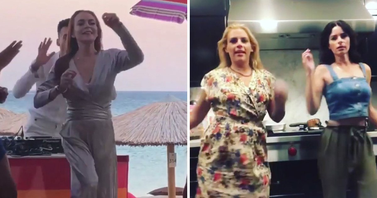 Lindsay Lohan's viral dance challenge gets a co-sign from the star herself and now we all want to Do The Lilo