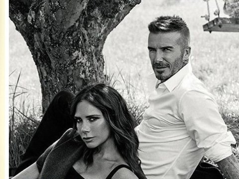Don't worry guys, David Beckham made it on the subscriber's cover of Vogue with Victoria