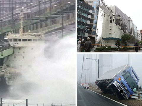 More than 1,000,000 people told to leave their homes as Typhoon Jebi turns deadly