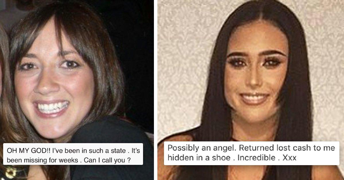 Very honest student returns £1,000 accidentally sent inside trainers on eBay