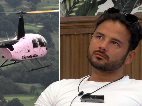 CBB fans gutted as Ryan Thomas' reaction to helicopter message of support is axed from episode