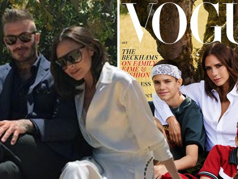 Did David Beckham refuse to star in Victoria's idyllic family Vogue cover because it made him 'feel uneasy'?
