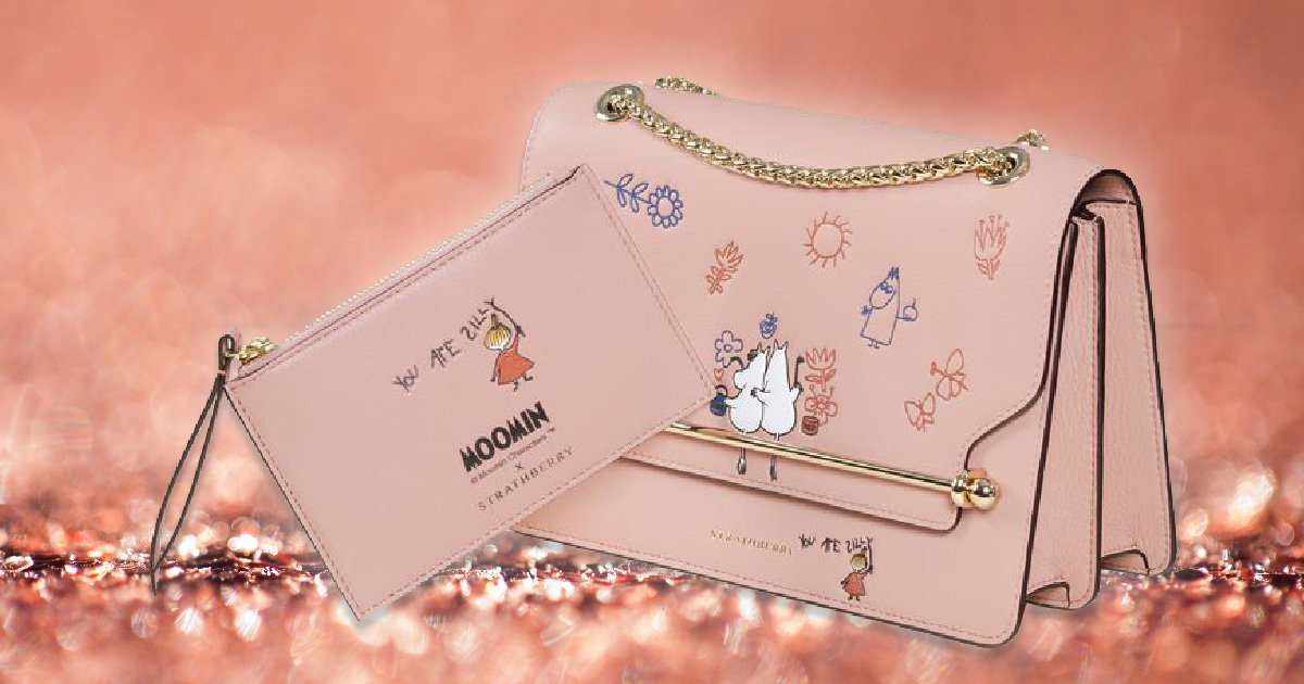 Strathberry launches new handbag collection in collaboration with Moomins