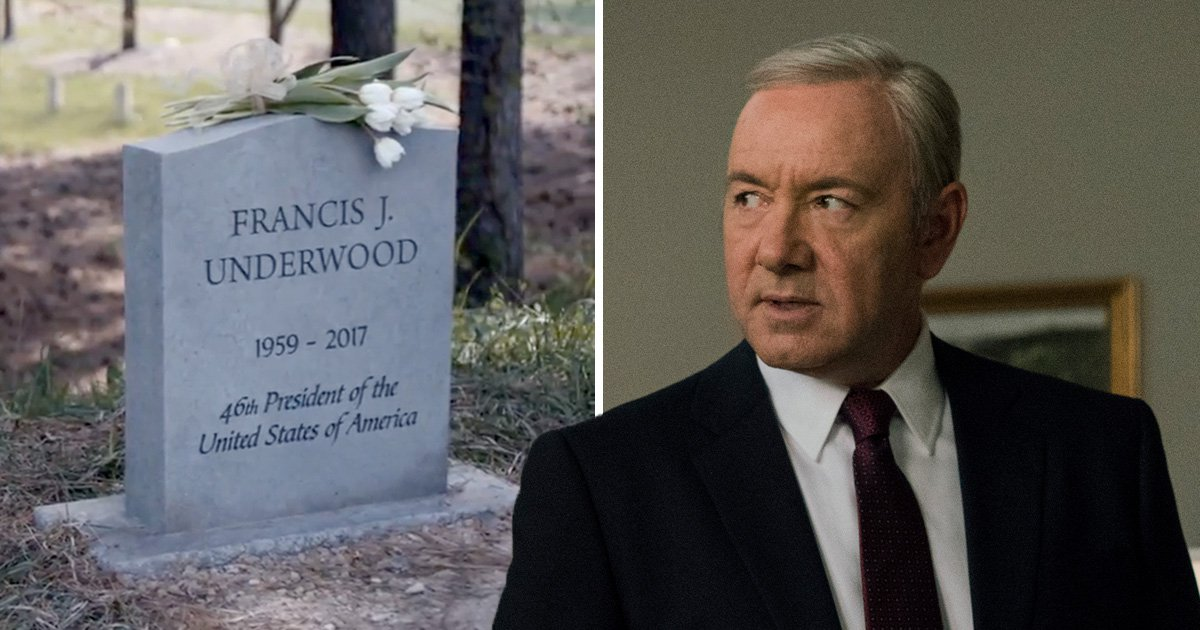 Frank Underwood's fate revealed as new House Of Cards teaser shows his grave