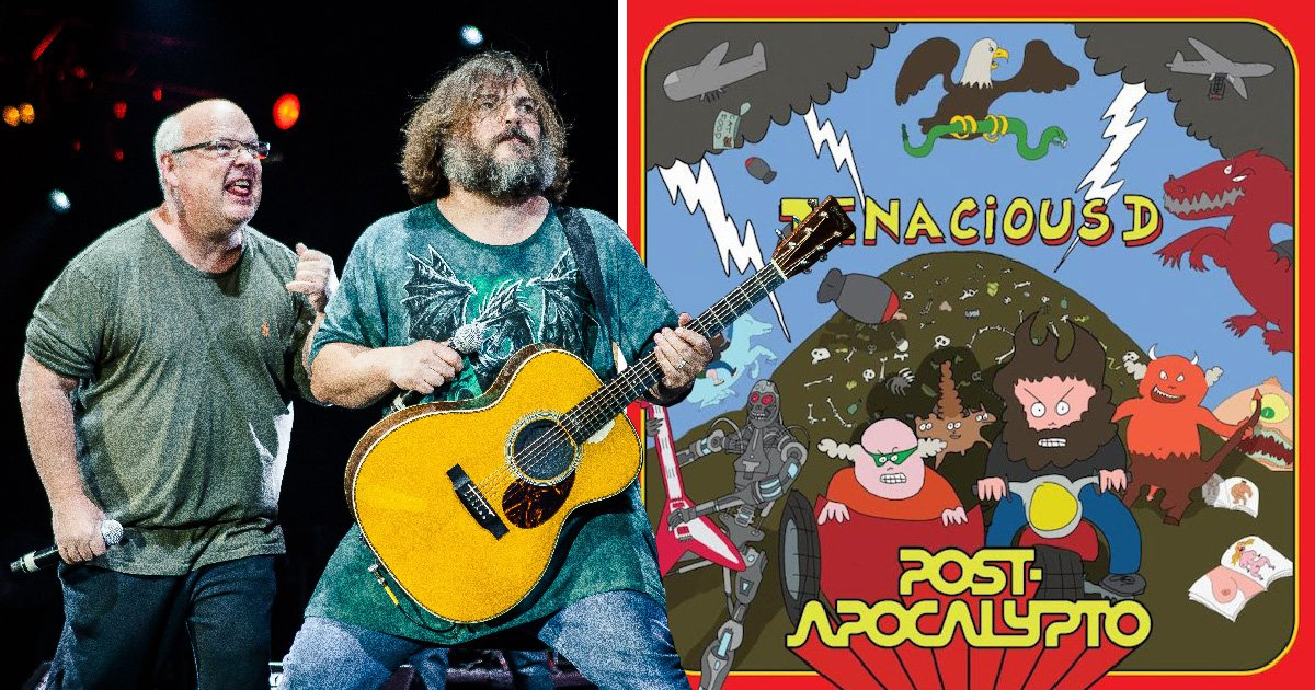 Jack Black's band Tenacious D prepare for comeback with new album and show
