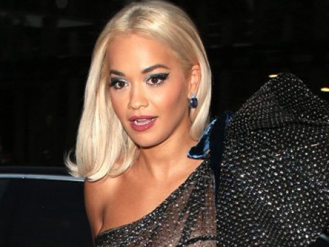 Rita Ora rocks semi-sheer jewelled gown at GQ Men of the Year Awards and we are obsessed