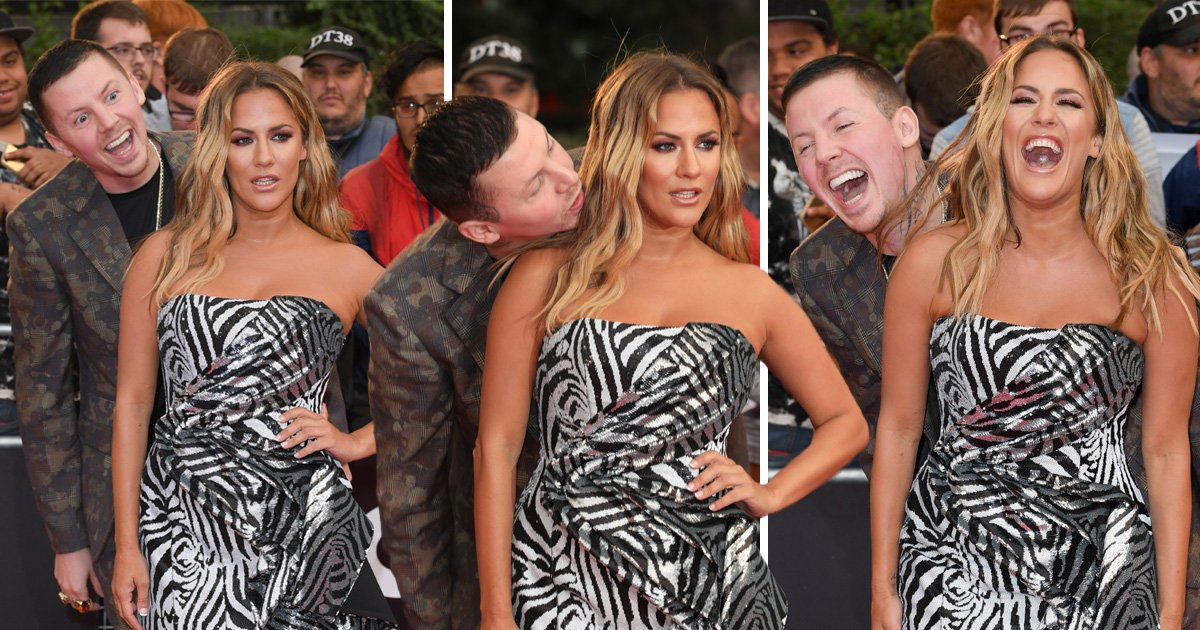 Professor Green photobombing Caroline Flack at the GQ Men Of The Year Awards is the best thing you'll see today