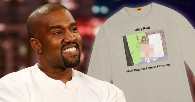 Kanye West designs Pornhub jumpers