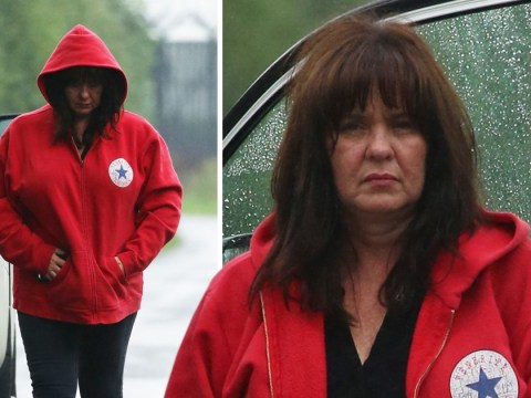 Coleen Nolan pictured looking downcast after taking 'immediate hiatus' from Loose Women over Kim Woodburn row