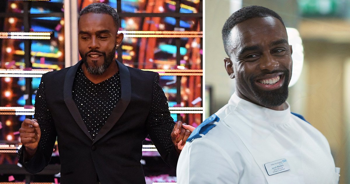 Casualty's Charles Venn vows to remain on the show as he juggles drama with Strictly Come Dancing
