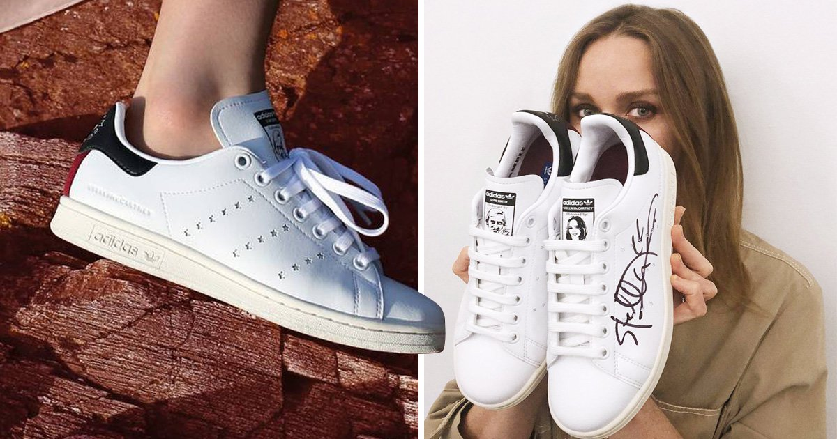 Adidas and Stella McCartney team up to create first vegan Stan ...
