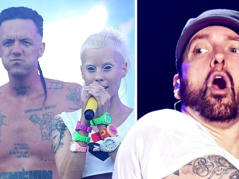 What is Eminem's beef with Die Antwoord all about?