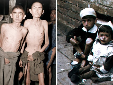 Horror of the Holocaust revealed in haunting new colour photos