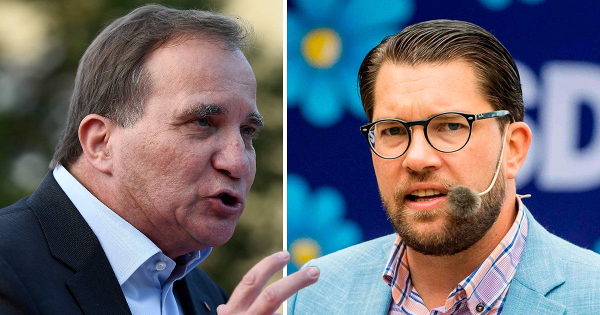 Swedish PM calls far-right rivals 'racist' ahead of general election