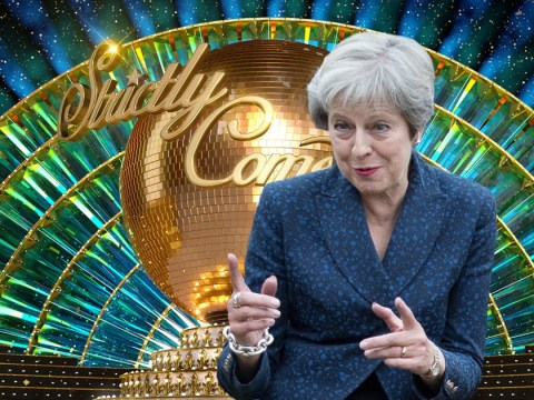Theresa May offers her Strictly Come Dancing 'tips' to the stars ahead of new series