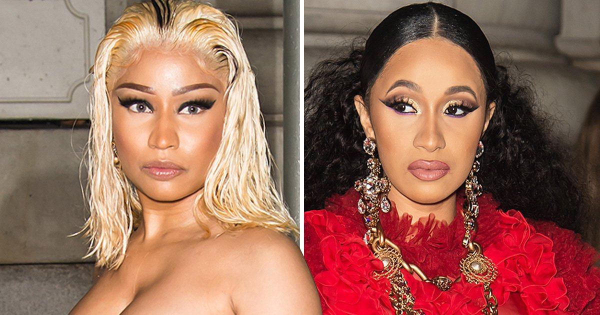 Cardi B's stylist wades into feud with Nicki Minaj as Super Bass rapper hints at legal action