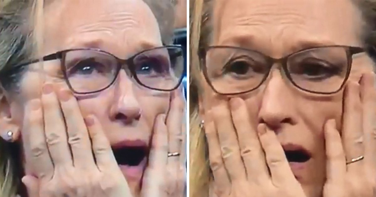 Meryl Streep's reaction to the US Open final is a serious mood