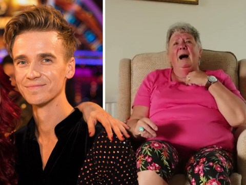 Joe Sugg's nan has the most perfect reaction to him joining Strictly Come Dancing