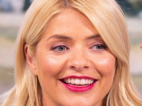 Holly Willoughby could be the new Fergie after an encounter with the Black Eyed Peas' Will.I.Am and Taboo