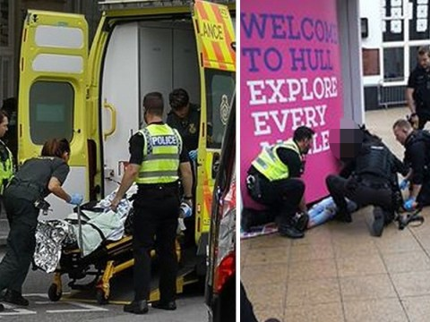 Police storm Barclays after man 'tries to set fire to two banks'
