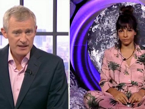 Roxanne Pallett did vomit after first interview confirms Jeremy Vine – as he labels her 'a broken woman'