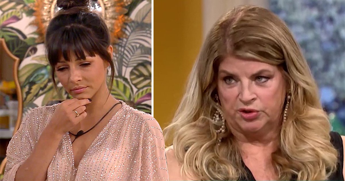 Kirstie Alley claims Roxanne Pallett had access to her management during CBB Ryan Thomas 'punch gate'