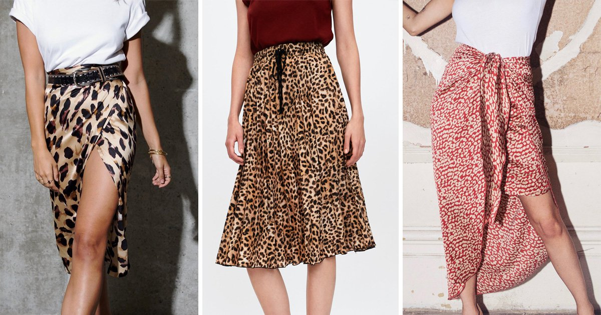 Nine of the best leopard print skirts to buy right now