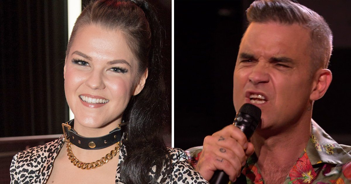 X Factor's Saara Aalto schools Robbie Williams over transgender backlash: 'It's very personal'