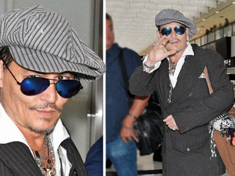 Johnny Depp looks happy and healthy months after concerns over 'gaunt' appearance