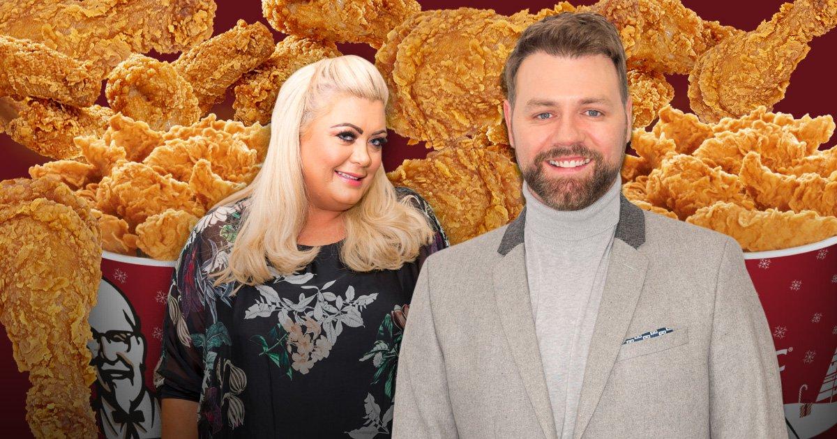 Brian McFadden gets year supply of KFC after Gemma Collins' sex dream fails