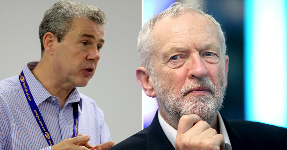 Trade union boss suggests Israel is behind Labour's anti-Semitism storm