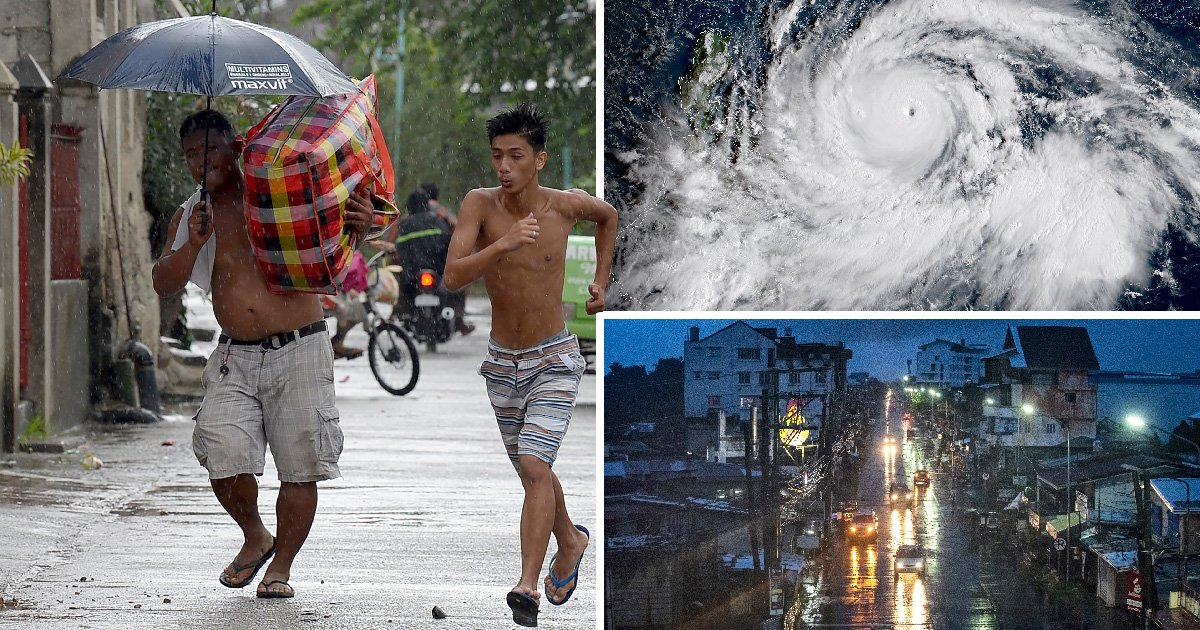 'Super typhoon' hits the Philippines putting more than 5,000,000 lives at risk