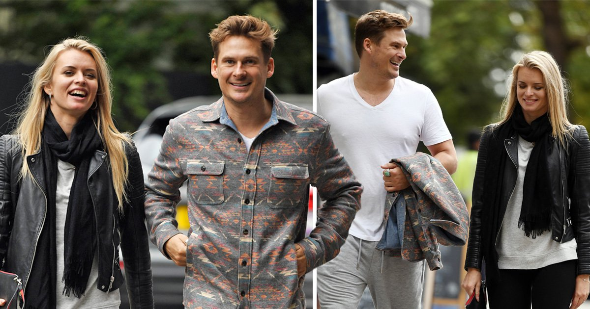 Strictly curse rumours in full swing already as Lee Ryan is pictured holding hands with Nadiya Bychkova