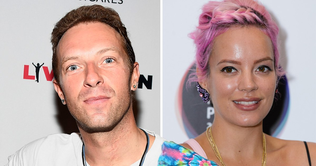 Chris Martin 'staged intervention' for Lily Allen after she collapsed at A-list Halloween party