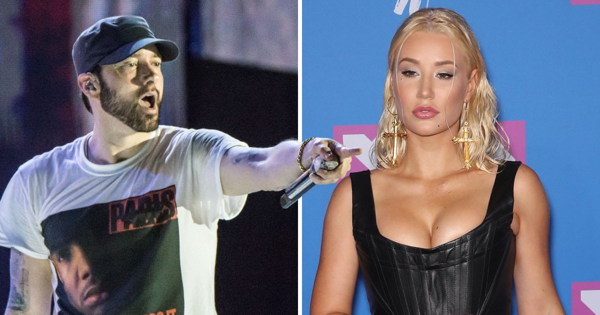 Iggy Azalea calls out Eminem for calling her a 'h*' in Machine Gun Kelly diss track