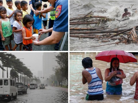 Children among at least 12 killed by devastating Typhoon Mangkhut in Philippines