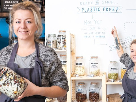 Grocery shop completely free of plastic packaging opened by 26-year-old entrepreneur