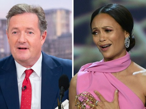 Piers Morgan criticises 'offensive atheist' Thandie Newton after she claims God is a woman
