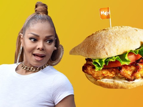 Janet Jackson just learnt what a 'cheeky Nando's' is, and she's into it