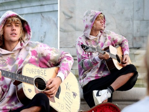 Justin Bieber surprises fans as he sweetly serenades Hailey Baldwin outside Buckingham Palace amid marriage rumours