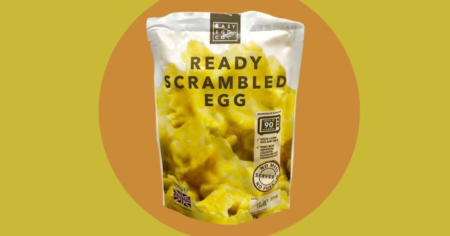Iceland is selling ready-made scrambled egg