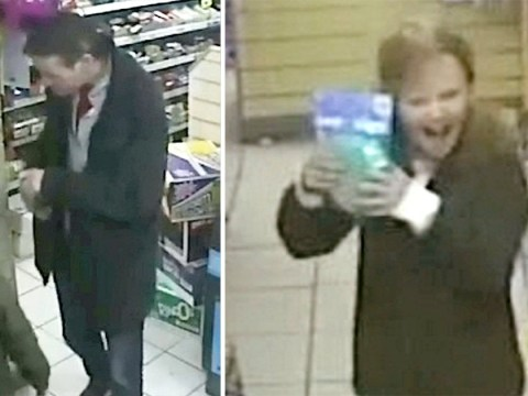 Chilling CCTV shows girl, 8, shopping with dad before she was stabbed to death