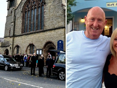 Daughter leads mourners at funeral for British couple who died on Egypt holiday
