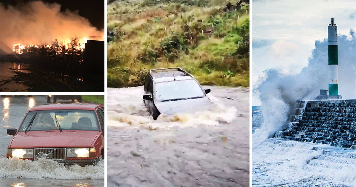 Sleepless night for millions as Storm Bronagh batters Britain with 78mph winds