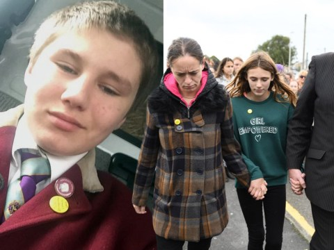 Grieving family hand in letters of complaint to school where son, 14, was found dead
